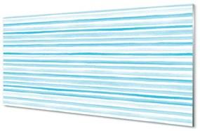 Akrilképek kék csíkos 140x70 cm