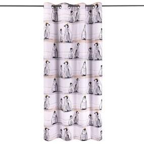 4Home Pingvinek gyerek függöny, 140 x 245 cm