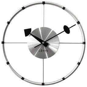 Lavvu Compass falióra ezüst, átmérő 31 cm