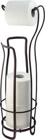 Bronzszínű acél WC-papír tartó, 62,5 cm - InterDesign