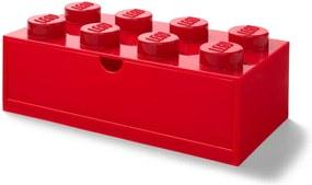 Piros, fiókos tárolódoboz, 31 x 16 cm - LEGO®