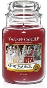 CHRISTMAS MAGIC nagy üveggyertya