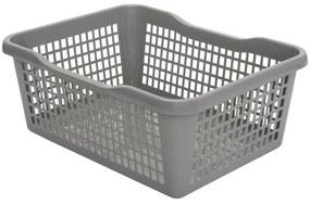 Aldo Műanyag kosár 41,9 x 32 x 16,8 cm, szürke