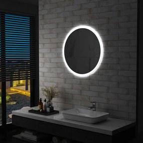 vidaXL LED-es fürdőszobai falitükör 70 cm