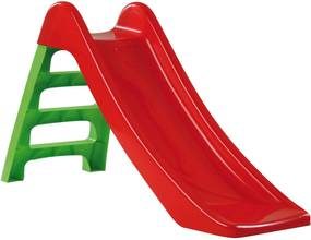 Kis talp nélküli gyerek Csúszda 130cm - piros