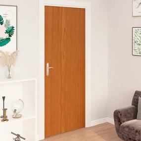 vidaXL 2 db világos tölgyszínű öntapadó PVC ajtófólia 210 x 90 cm
