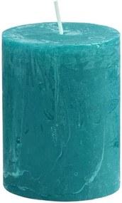 RUSTIC gyertya, petrol 9cm