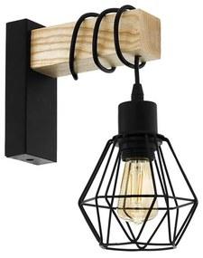 Eglo Eglo 43135 - Fali lámpa TOWNSHEND 1xE27/60W/230V EG43135