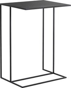 Kisasztal SIDER METAL – fekete
