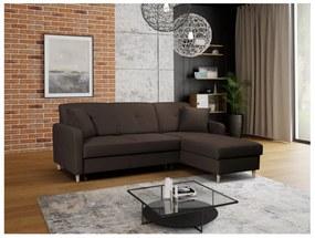 FOSIE sarok kanapéágy, 220x88x162, hugo 28, jobb sarok