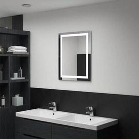 Led-es fürdőszobai tükör érintésérzékelővel 50 x 60 cm