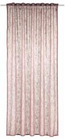 Albani Alessio függöny, rózsaszín, 135 x 245 cm