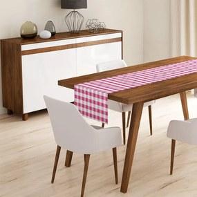 Pink Flannel asztali futó, 45 x 140 cm - Minimalist Cushion Covers