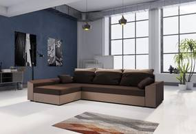 PAMELA ágyázható sarok ülőgarnitúra, 245x85x140, mikrofázis 20/05, bal