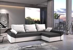 VIVIANA ágyázható sarok ülőgarnitúra 245x85x140, mikrofázis 27/31, jobb