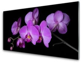 Modern üvegkép Orchidea Orchidea Virág 140x70 cm