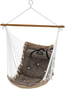 SONGMICS függőfotel párnával, 70 x 120 cm, 200 kg-ig terhelhető