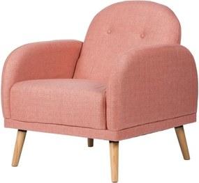 Bangkok rózsaszín fotel - sømcasa