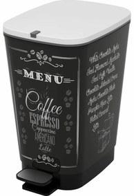 KIS Chic Bin L Coffee szemeteskosár, 50 l