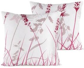 4Home Pillangós rét párnahuzat, 40 x 40 cm, 2 db-os szett, 40 x 40 cm