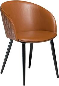 Dual barna műbőr szék - DAN-FORM Denmark