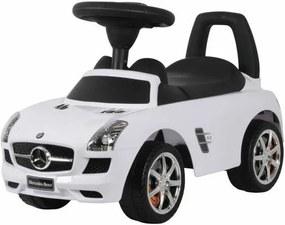 Mercedes SLS lábbal hajtós autó 1,5 éves kortól, fehér