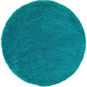 Aqua Liso kék szőnyeg, ø 80 cm - Universal