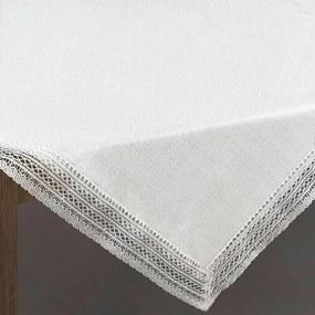 Mariela csipkés asztalterítő Ezüst 85 x 85 cm - HS330460