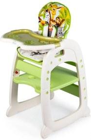 Gyermek étkező szék 2 az 1-ben SAFARI Ecotoys