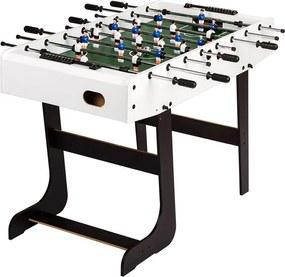 Asztali foci összecsukható BELFAST 121 x 101 cm - fehér