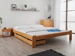Magnat ADA ágy 180x200 cm, égerfa Ágyrács: Ágyrács nélkül, Matrac: Matrac nélkül