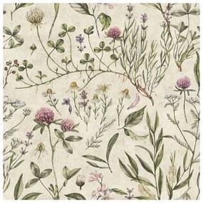 Vintage Botanic gyerek tapéta - Dekornik
