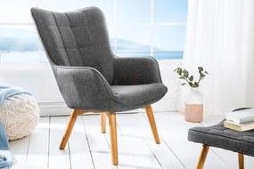 SCANDINAVIA szürke fotel