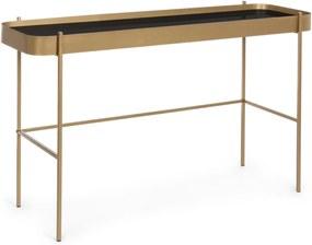 RASHIDA arany konzolasztal 120x43