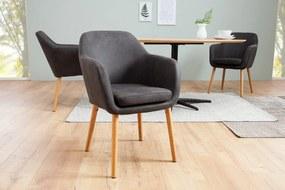 CANDIS design szék - vintage szürke