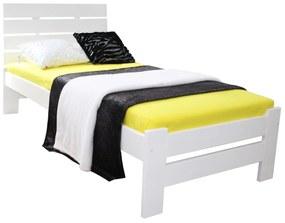MD LULA egyszemélyes ágy 90x200 - fehér
