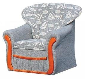 Paula fotel, nappali, vagy szobabútor.  a   kg063 (szürke - fekete)