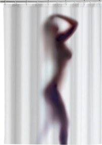 Silouette fehér penészálló zuhanyfüggöny, 180 x 200 cm - Wenko