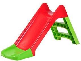 Starplast gyerek Csúszda 120cm - piros-zöld