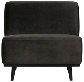 BePureHome - Statement bársony fotel, Sötétzöld