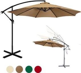 Függő napernyő 2,7 m - több színben