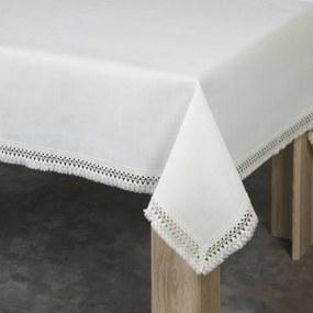 Mona csipkés asztalterítő Natúr / ezüst 150 x 300 cm - HS360875