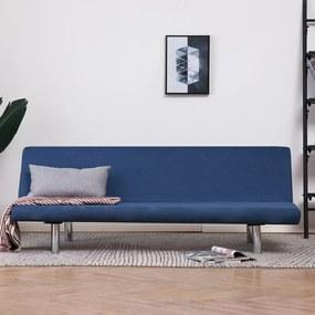 Kék poliészter kanapéágy