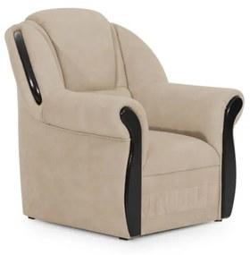 QUEEN fotel, soft 033 beige