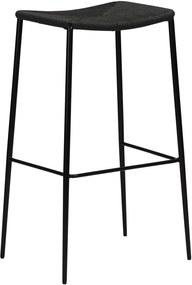 Stiletto fekete bárszék, magasság 78 cm - DAN-FORM Denmark