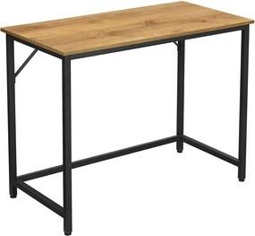Íróasztal, számítógép asztal, kis irodai asztal, 100 x 50 x 75 cm