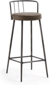 Barna bárszék, magasság 92 cm - La Forma