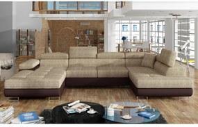 CORGI U ágyazható ülőgarnitúra, 345x90x202, berlin 03/soft 66, jobbos