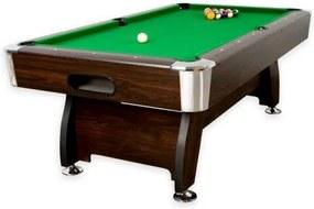 Pool biliárd asztal TUIN 7 ft 214 x 122 cm - zöld