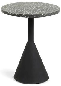 Melano fekete tárolóasztal - La Forma